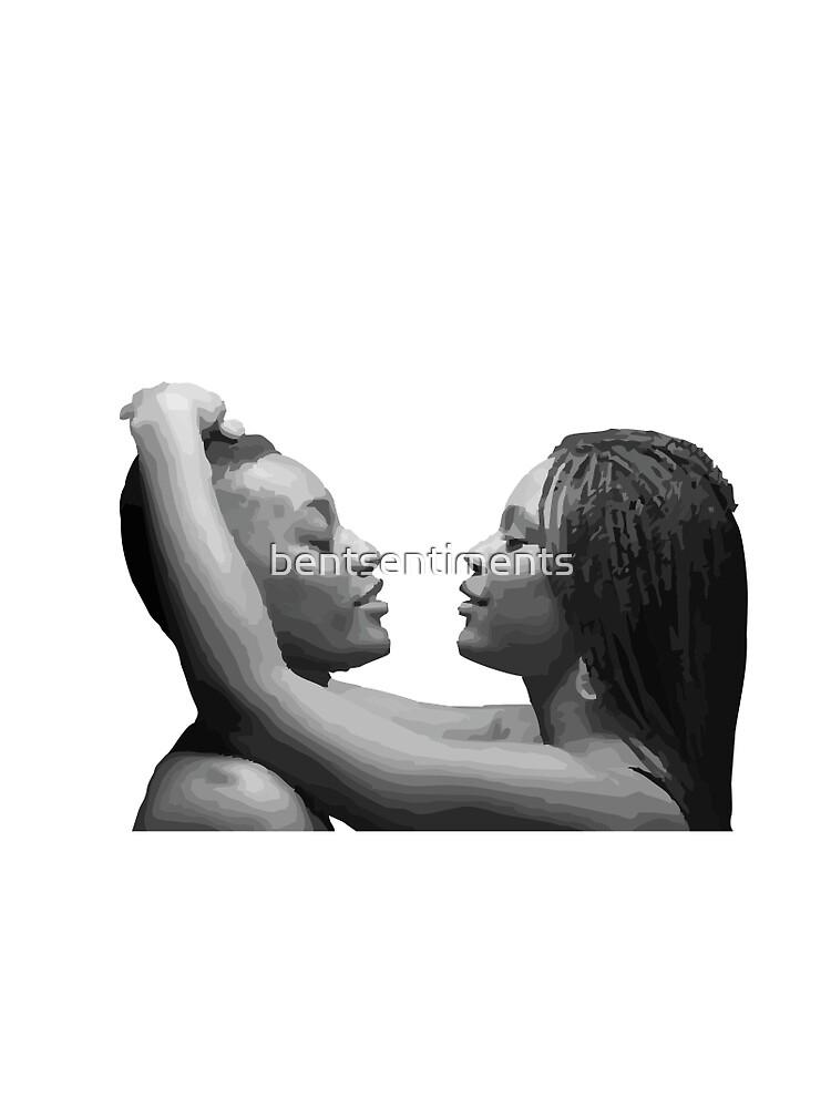 Lesbian black girls making out