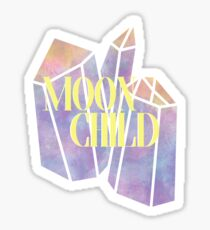 Moon Child Crystals Sticker