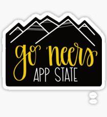 Go neers! App State Sticker