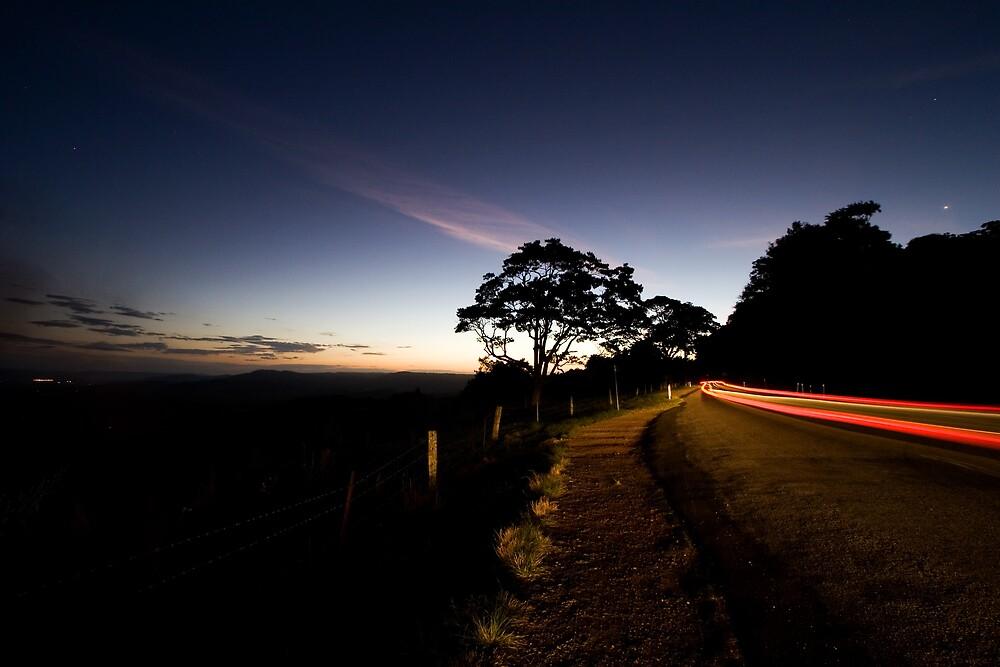 Maleny Light Trails by GVarney