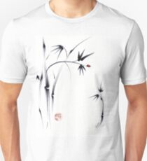 Lovely Day - Sumie ink brush pen painting Unisex T-Shirt