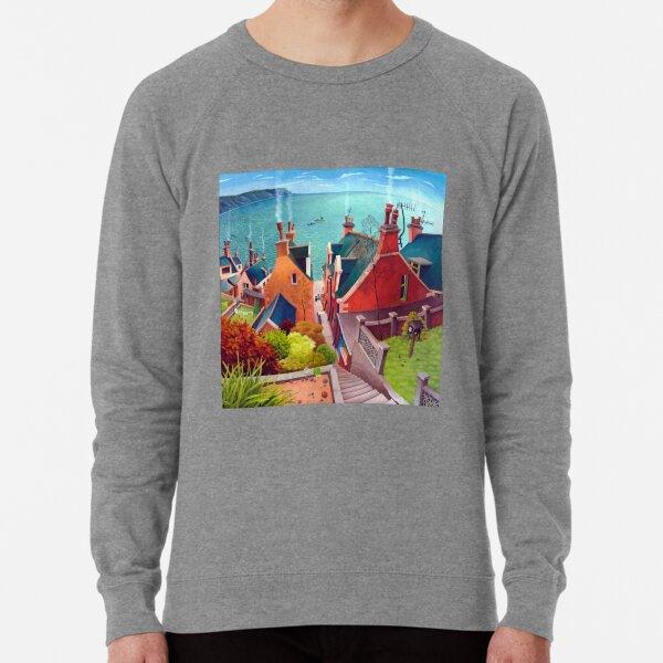 Sea houses. Gardenstown. Lightweight Sweatshirt