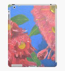 Red flowering gums iPad Case/Skin