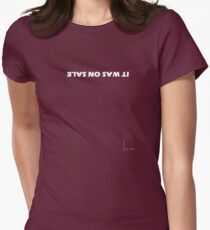 On sale Womens Fitted T-Shirt