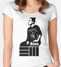 Russ Chilling Women's Fitted Scoop T-Shirt