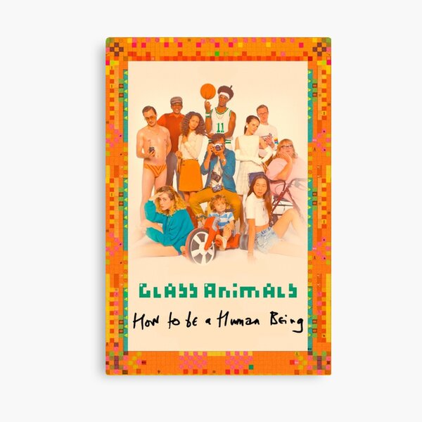Glass Animals How To Be A Human Being Canvas Print