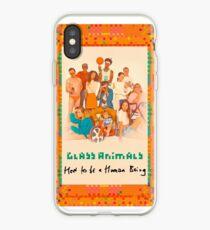 Vinilo o funda para iPhone Glass Animals Cómo ser un ser humano
