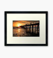 Sunset: Henley Beach Framed Print