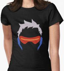 Soldier: 76 Womens Fitted T-Shirt