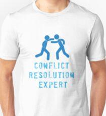 Conflict Resolution Expert Unisex T-Shirt