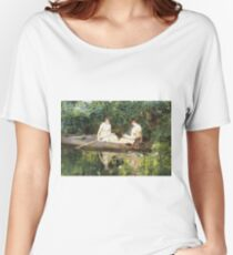 Francis Coates Jones - Women In A Rowboat Women's Relaxed Fit T-Shirt