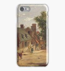 Francis Blackwell Mayer - Old Annapolis, Francis Street iPhone Case/Skin
