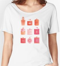 Flask Collection – Pink/Peach Ombré Palette Women's Relaxed Fit T-Shirt