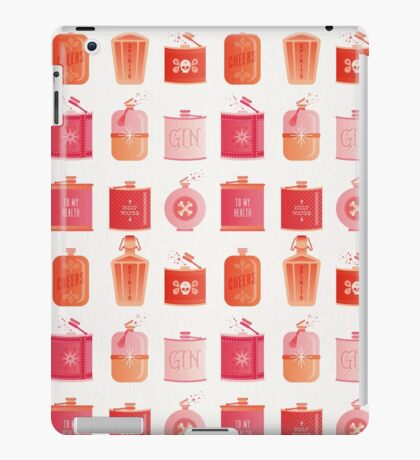 Flask Collection – Pink/Peach Ombré Palette iPad Case/Skin