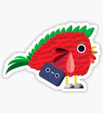 the bussines chicken Sticker