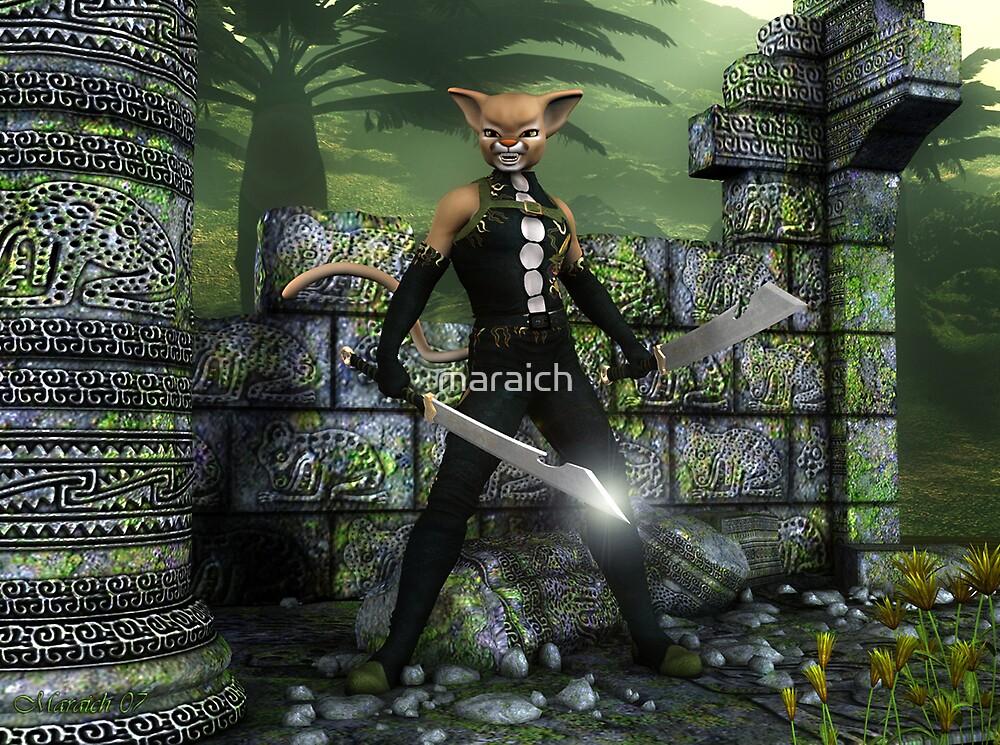 Guardian of the Ruins by maraich