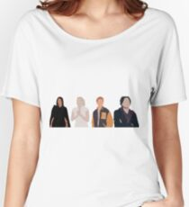 Core Four Riverdale Minimalist Women's Relaxed Fit T-Shirt