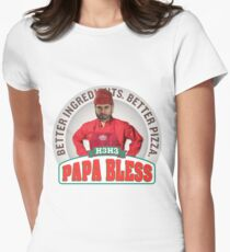 Papa Bless Exclusive T-shirt Womens Fitted T-Shirt