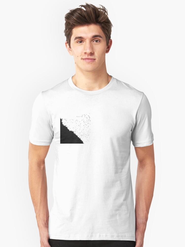 black birds t-shirt by Ian Robertson