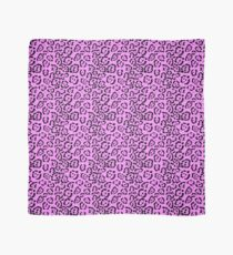 Pink Leopard 80s Style Scarf