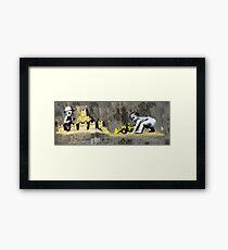 hastings Banksy & DS Framed Print