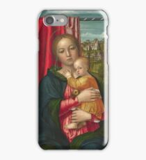 Francesco Morone - The Virgin And Child iPhone Case/Skin