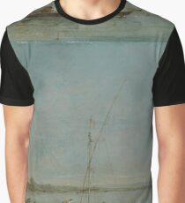 Francesco Guardi - View Of The Venetian Lagoon With The Tower Of Malghera Graphic T-Shirt