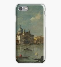 Francesco Guardi - Venice - The Giudecca With The Zitelle iPhone Case/Skin