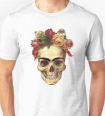 Frida Kahlo Skull T-Shirt