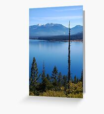 Jobs Sister, Freel Peak, and Armstrong Pass Greeting Card