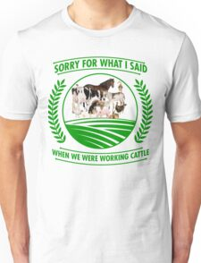Farm animal shirt Unisex T-Shirt