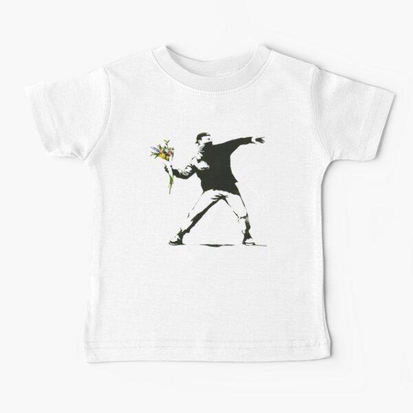 Banksy, Flowers Baby T-Shirt