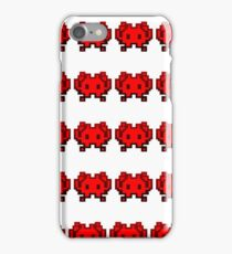 Invaders from another world iPhone Case/Skin