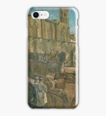 Francesc Gimeno - Plaza Del Rey 1896 iPhone Case/Skin