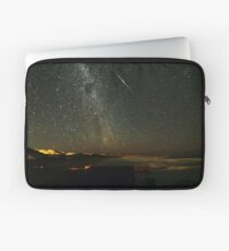 Comet Lovejoy with Iridium Flare Laptop Sleeve