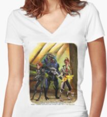 Mordin Loyality Women's Fitted V-Neck T-Shirt