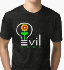 Evil Corp Logo Tri-blend T-Shirt