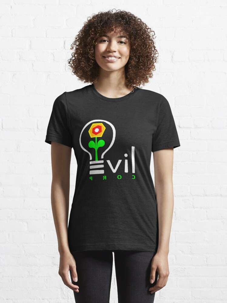 Alternate view of Evil Corp Logo Essential T-Shirt
