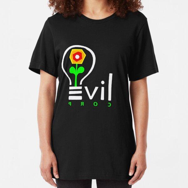 Evil Corp Logo Slim Fit T-Shirt