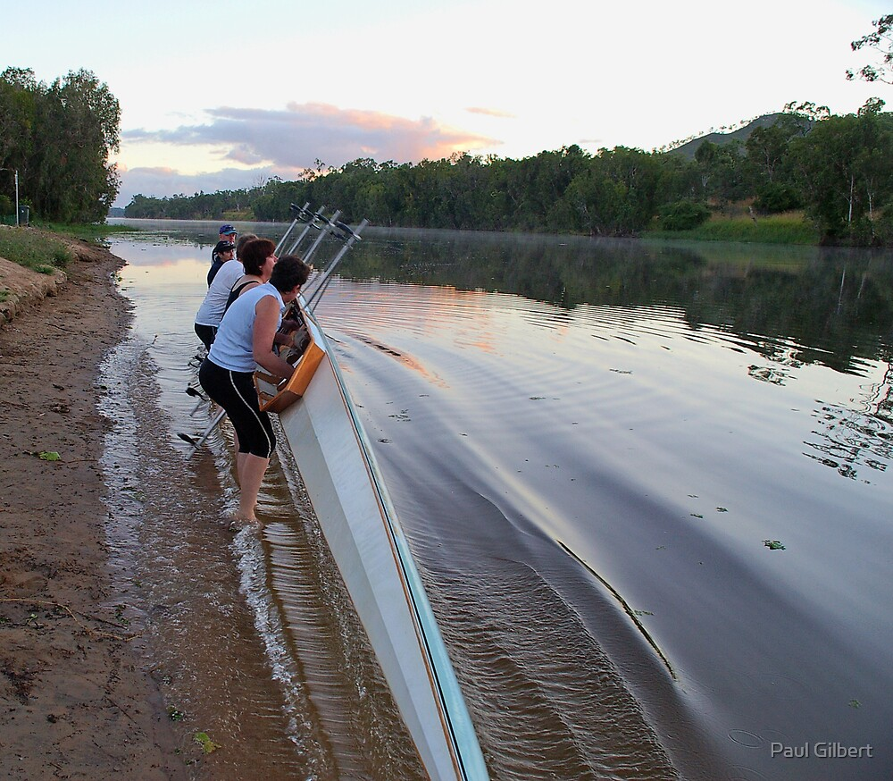 Lift together - Riverway Rowing Club by Paul Gilbert