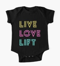 Live Love Lift Neon One Piece - Short Sleeve