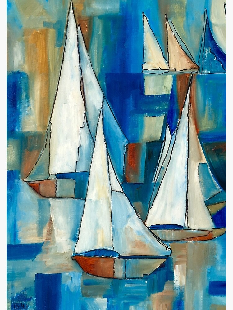 Sailing Boats by GalleryGiselle