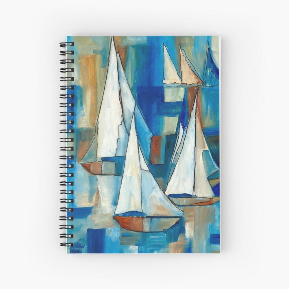 Sailing Boats Spiral Notebook