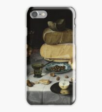 Floris Claesz. Van Dijck - Still Life With Cheese, Floris Claesz iPhone Case/Skin