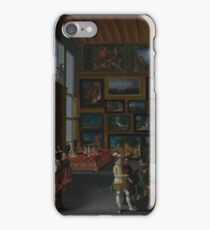 Flemish - Cognoscenti In A Room Hung With Pictures iPhone Case/Skin