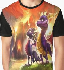 Spyro and Cynder Graphic T-Shirt