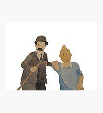 Tintin 1 Photographic Print