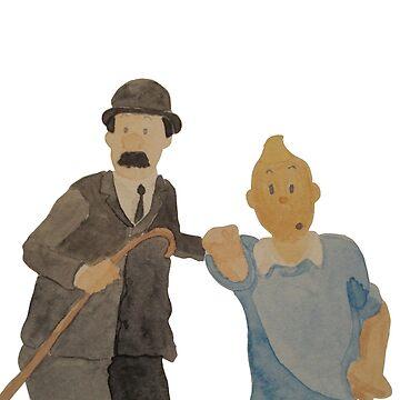 Tintin 1 by Alan2903