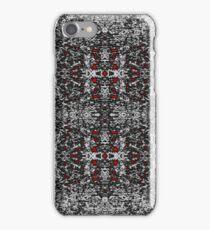 Red White Rorschach iPhone Case/Skin