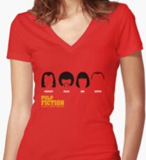 Vincent Jules Mia Butch Women's Fitted V-Neck T-Shirt
